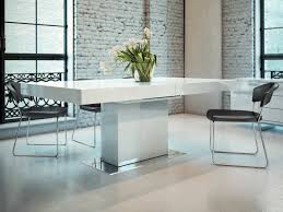 perfect contemporary white dining table pleasing dining room