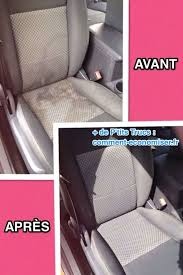 nettoyer siege de voiture en tissu comment nettoyer facilement vos sièges de voiture