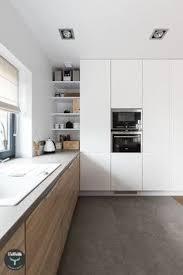 sol cuisine design idée relooking cuisine cuisine en bois clair avec un sol