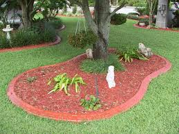 concrete flower bed edging crafts home