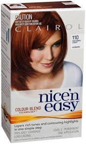 clairol nice n easy natural light auburn clairol nice easy 110 natural light auburn chempro online chemist