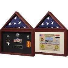 Flag Displays Spartacraft Capitol Flag Case Shadowbox Frame Frames U0026 Displays