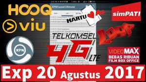 config kuota videomax masih aktif config kpn tunnel kuota videomax telkomsel expired 20 agustus 2017