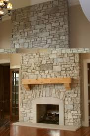 Cleaning Bricks On Fireplace by Contemporary Stone Fireplace Surround Frame For Clean House