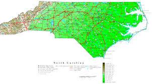 North Carolina vegetaion images North carolina contour map jpg