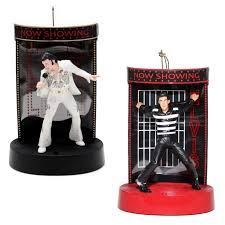 shop elvis multi colored plastic musical elvis ornament color