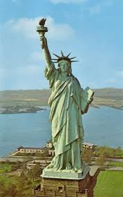 education statue of liberty reclothing the first lady of metals
