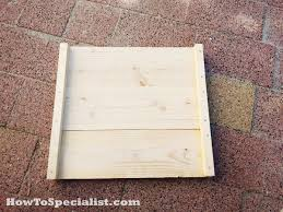 Morris Chair Plans Howtospecialist How by Diy Planter Bench Plans Howtospecialist How To Build Step By