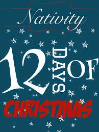 nativity 12 days of christmas girls holidays and christmas nativity
