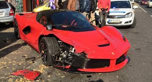 crashed for sale laferrari crashed one for sale drivers magazine