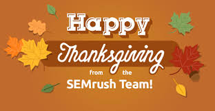 thanksgiving 2013 semrush