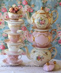 the vintage table vintage china hire perth the collection