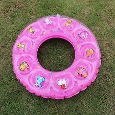 si e de bain pour b enfant gonflable anneau de natation pvc épaissie cristal