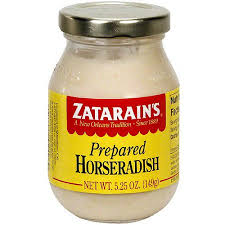 what is prepared horseradish zatarain s prepared horseradish 5 25 oz pack of 12 walmart