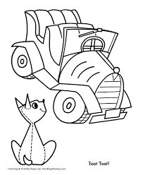 christmas toys coloring pages toy car christmas coloring sheet