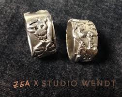 silver skeleton ring holder images Skeleton ring etsy jpg