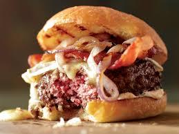 bacon burgers on brioche buns recipe tyler florence food u0026 wine