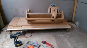 Used Wood Cnc Machines Uk by Diy Cnc Router Birth Of A New Project Craftygeek