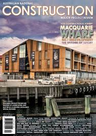 australian national construction review by trade media group ptd