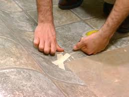 Cut To Fit Bathroom Rugs How To Install Vinyl Flooring How Tos Diy