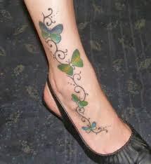 women classic fashion girls latest vine tattoo designs