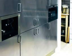 Stainless Steel Kitchen Cabinet Decorating Your Home Design Studio With Good Ellegant Stainless