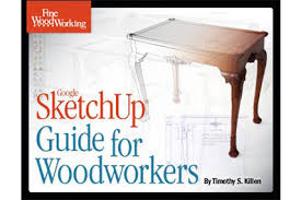 new book sketchup guide for woodworkers sketchup blog