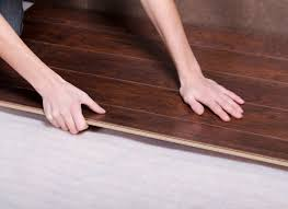 crooked planks continue a laminate flooring installation
