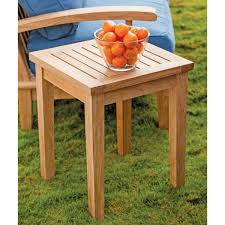 patio side table veranda collection by thos baker