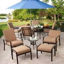 Discount Patio Furniture Sets by Outdoor Brown Conventional Varnished Wooden Conversation Set With