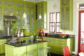 Modern Green Kitchen Cabinets Green Modern Kitchen Idesignarch Interior Design Architecture