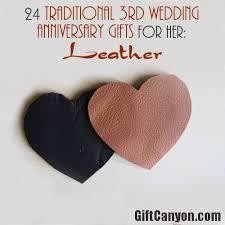 third anniversary gift ideas leather wedding anniversary gift ideas for appealhome