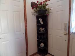 corner cabinet bookcase amazing tall corner shelf home decorations ideas of tall