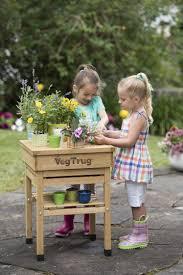 kid u0027s vegtrug potting bench kids gardening gardeners com