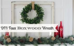 decor artificial boxwood wreath faux vines boxwood wreaths
