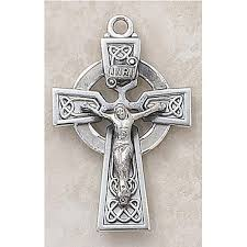celtic crucifix celtic crucifix pendant sterling silver catholic gifts