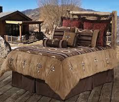 navaho cowhide cross bedding set