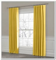 Mustard Curtain Classic Design Living Room With Homescapes Blackout Thermal