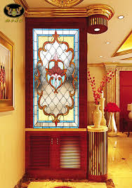 tiffany club house custom partition wall wood entrance doors