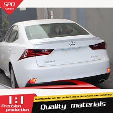 lexus color for lexus is250 is300 is350 spoiler abs material car rear wing