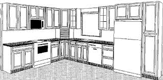 Kitchen Design Drawings Kitchen Drawing Great With Photo Of Kitchen Drawing Interior On