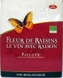 Conservation Vin Rouge Vin Rouge Igp Pays D U0027oc Fleurs De Raisins 3 L