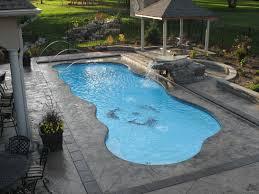 new great lakes in ground fiberglass pool by san juan get this taj mahal san juan fiberglass in ground pool at