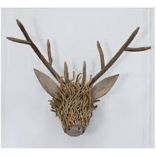 wooden stag wall voyage maison wooden stag wall mounted designs with