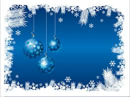blue christmas blue christmas background 03 vector free vector 4vector