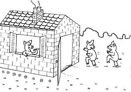 pigs house coloring pages batch coloring