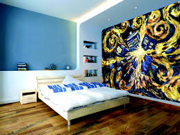 Dr Who Home Decor Bedroom Creative Bedroom Wallpaper Decor Idea Stunning Wonderful