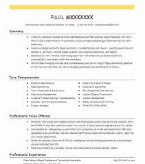 oil field resume samples field technician resume example oil field