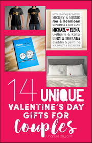 14 unique valentine u0027s day gifts for couples shop daily