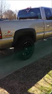 Wide Rims For Chevy Trucks 33 Inch Tires On 99 06 Gmc Chevy Truck Youtube